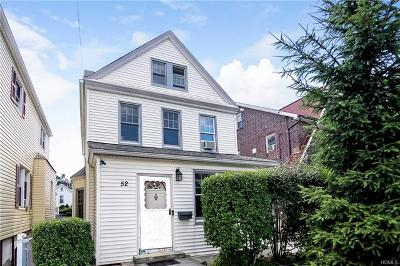 Yonkers Single Family Home For Sale: 52 Sherwood Avenue
