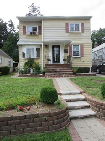 Yonkers Multi Family 2-4 For Sale: 637 Valley Avenue