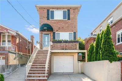 Bronx Multi Family 2-4 For Sale: 2571 Tenbroeck Avenue