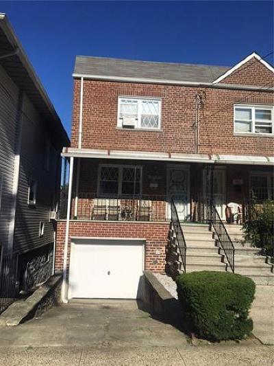 Bronx Single Family Home For Sale: 2715 Morgan Avenue