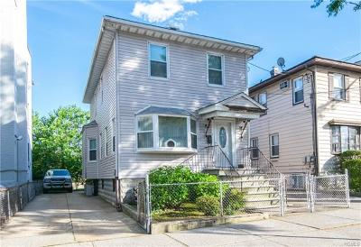 Bronx Single Family Home For Sale: 2850 Harrington Avenue