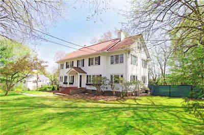 Scarsdale NY Single Family Home For Sale: $1,498,000