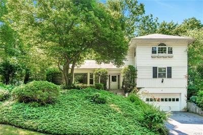 Scarsdale NY Single Family Home For Sale: $1,149,000