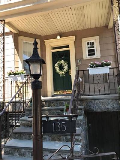 Yonkers Multi Family 2-4 For Sale: 135 Park Hill Avenue
