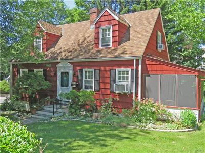 Hastings-On-Hudson Single Family Home For Sale: 35 Ashley Road