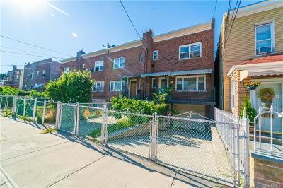 Bronx Single Family Home For Sale: 1945 Blackrock Avenue