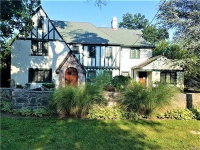 Single Family Home For Sale: 265 Old Mamaroneck Road