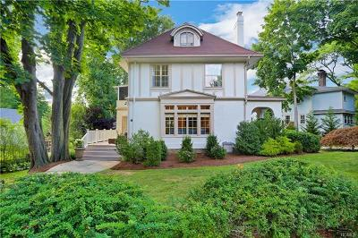 Larchmont Single Family Home For Sale: 4 Stuyvesant Avenue