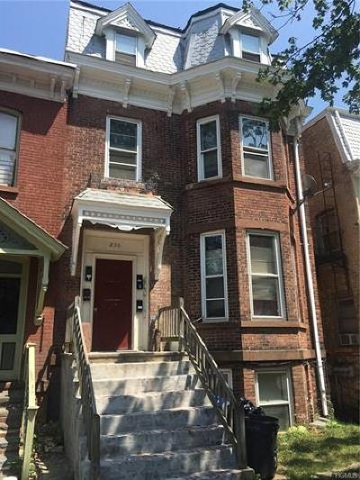 Newburgh Multi Family 2-4 For Sale: 256 Montgomery Street