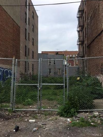 Bronx Residential Lots & Land For Sale: 2233 Bathgate Avenue