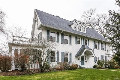 Scarsdale NY Single Family Home For Sale: $1,700,000