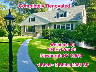 Newburgh Single Family Home For Sale: 104 Hy Vue Court