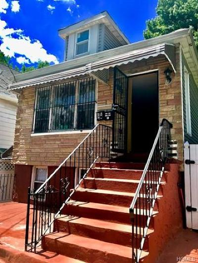 Bronx Multi Family 2-4 For Sale: 3421 Boller Avenue