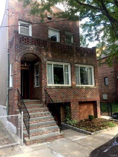 Bronx NY Multi Family 2-4 For Sale: $1,185,000