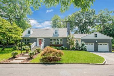 Scarsdale NY Single Family Home For Sale: $835,000