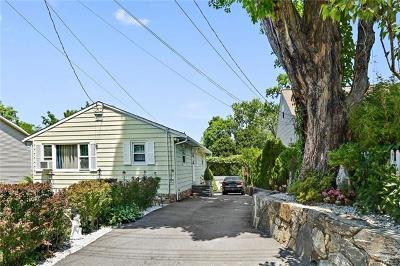 Ossining Single Family Home For Sale: 5 Fowler Avenue