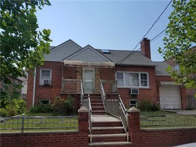 Bronx Single Family Home For Sale: 2435 Westervelt Avenue