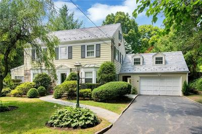 Scarsdale NY Single Family Home For Sale: $1,399,000