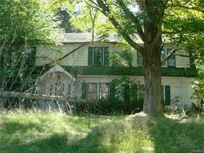 Sullivan County Single Family Home For Sale: 78 Rockland Road