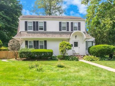 Scarsdale NY Single Family Home For Sale: $969,000