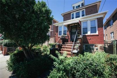 Bronx NY Single Family Home For Sale: $530,000