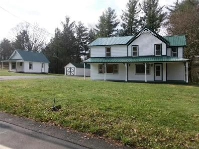 Swan Lake NY Single Family Home For Sale: $350,000
