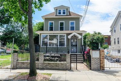 Bronx Single Family Home For Sale: 433 Beach Avenue