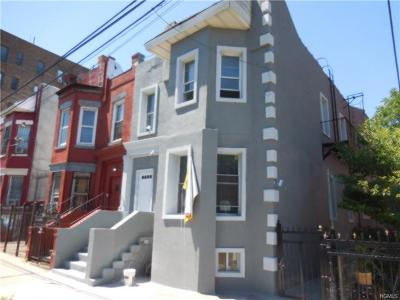Bronx Multi Family 2-4 For Sale: 817 Bryant Avenue