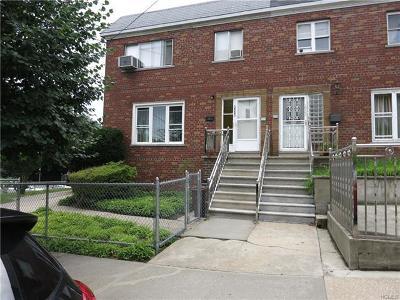 Bronx Multi Family 2-4 For Sale: 3903 Monticello Avenue