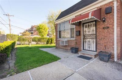 Bronx Single Family Home For Sale: 3354 Gunther Avenue