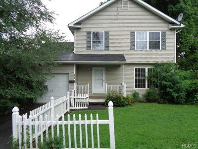 Port Jervis NY Single Family Home For Sale: $129,900