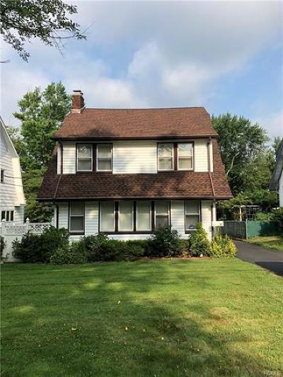 New Rochelle Single Family Home For Sale: 62 Argyll Avenue