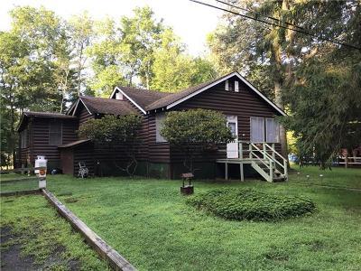 Bethel NY Single Family Home For Sale: $134,900