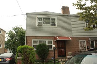 Bronx Single Family Home For Sale: 3043 Grace Avenue