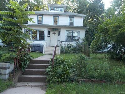 Liberty NY Single Family Home For Sale: $85,000