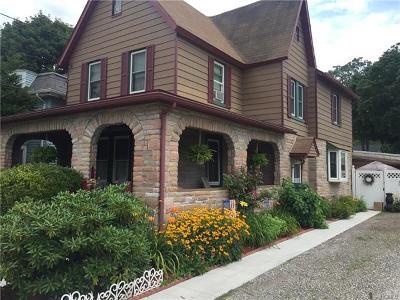 Port Jervis Single Family Home For Sale: 7 Prospect Street