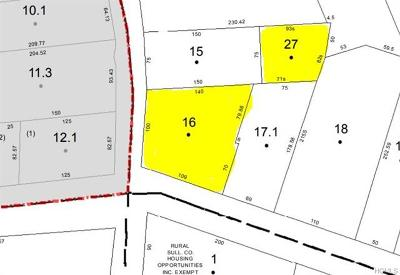 Residential Lots & Land For Sale: Liberty Street