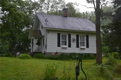 Rock Tavern Single Family Home For Sale: 352 Bull Road