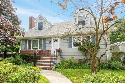 Dobbs Ferry Single Family Home For Sale: 85 Virginia Avenue