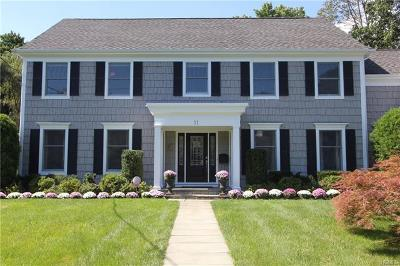 Scarsdale NY Single Family Home For Sale: $1,875,000