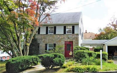 Westchester County Single Family Home For Sale: 25 Emmett Place