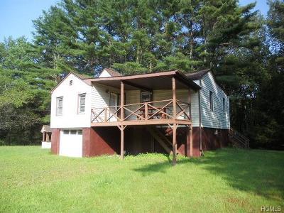 Bethel NY Single Family Home For Sale: $85,000