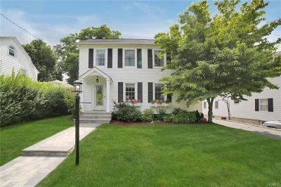 Scarsdale NY Single Family Home For Sale: $799,999