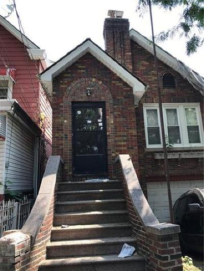Bronx Single Family Home For Sale: 4142 Gunther Avenue