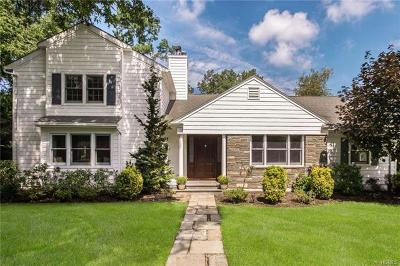 Scarsdale NY Single Family Home For Sale: $1,825,000