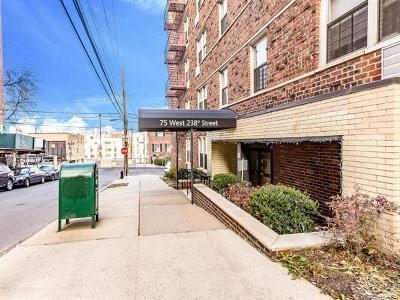 Bronx Co-Operative For Sale: 75 West 238th Street #4L