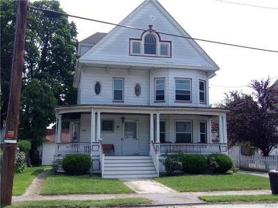 Port Jervis Single Family Home For Sale: 15 Ferguson Avenue