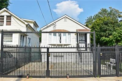 Bronx Single Family Home For Sale: 234 Newman Avenue