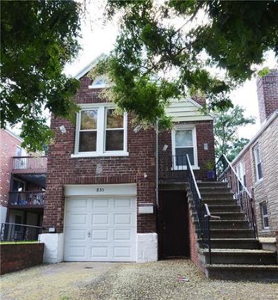 Bronx Multi Family 2-4 For Sale: 833 Revere Avenue