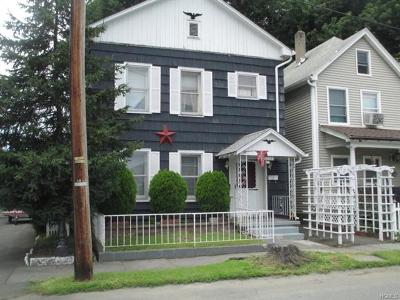 Port Jervis Single Family Home For Sale: 18 1st (First) Street